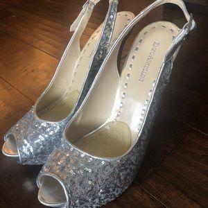 Size 9.5-10. Sequin heels.